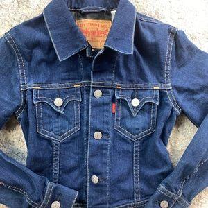 Levi Strauss & Co Blue Denim Jeans Jacket Large